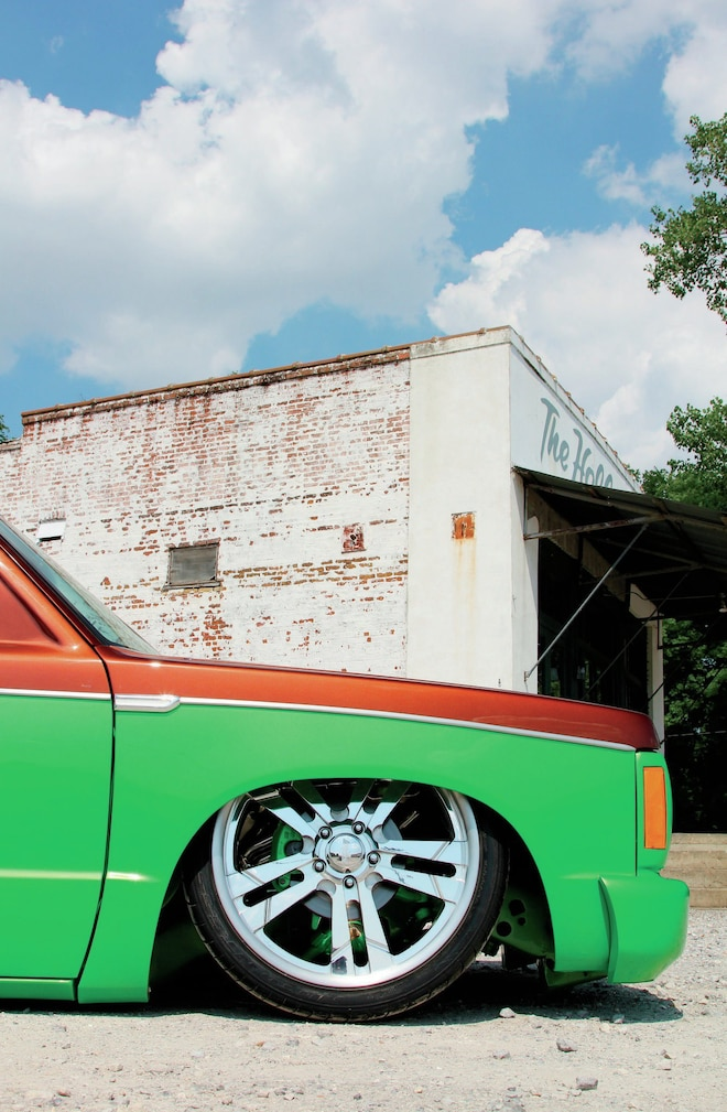 1990 Chevrolet S 10 Front Wheel