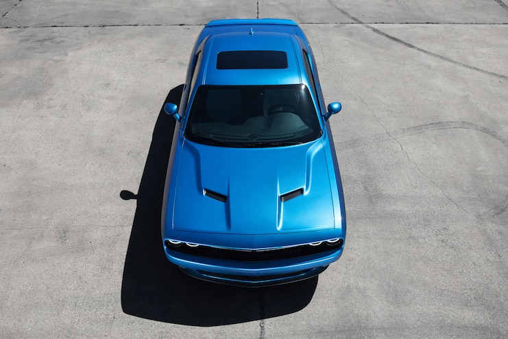 2015 Dodge Challenger SXT Top View