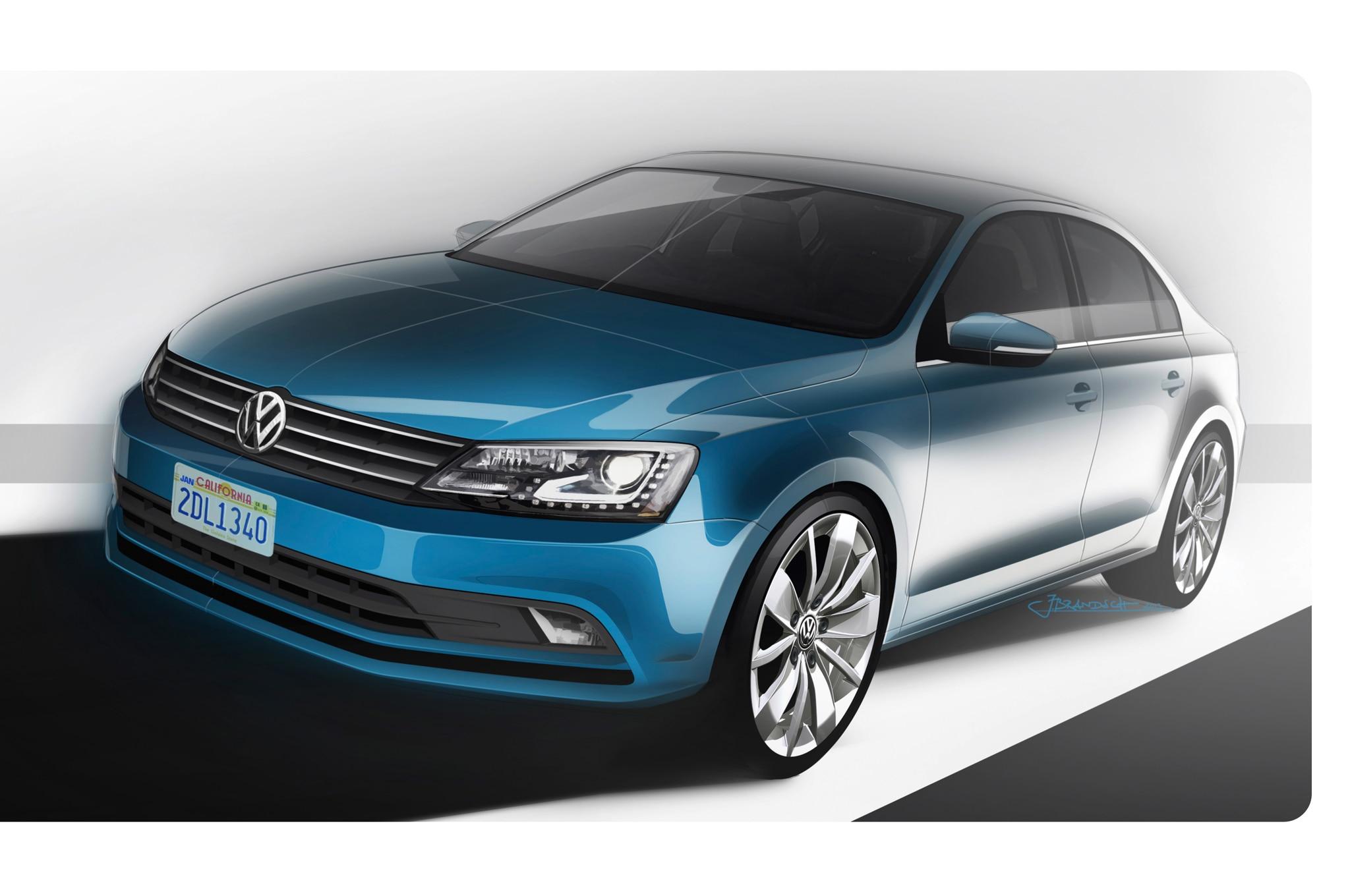 2015 Volkswagen Jetta First Look Motor Trend
