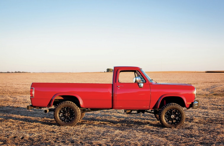 1991 Dodge D250 Side View