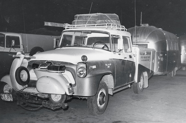 International Harvester Used By Wally Byam On His African Adventure In 1959
