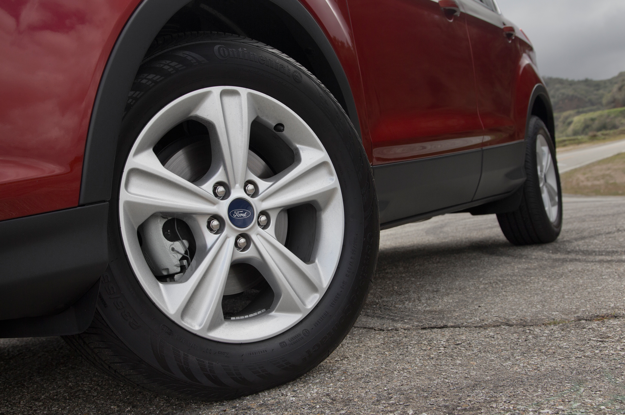 2014 Ford Escape Tires >> 2014 Ford Escape Se 1 6 Ecoboost First Test Photo Image