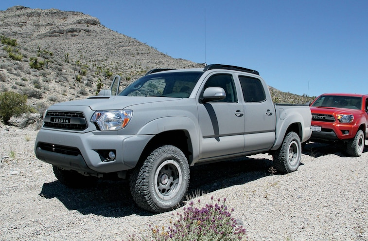 2015 Toyota Tundra Front Three Quarter