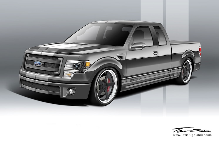 2013 Ford F 150 FX2 Front Three Quarter Rendering