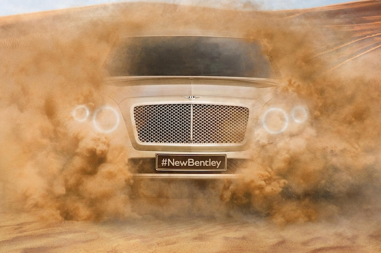 Bentley Teases New SUV, Anchors W12 Production in England