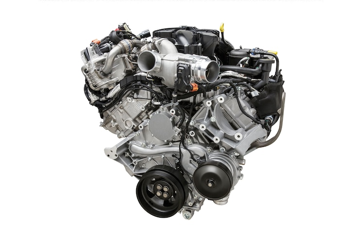 2016 Ford F 750 Engine