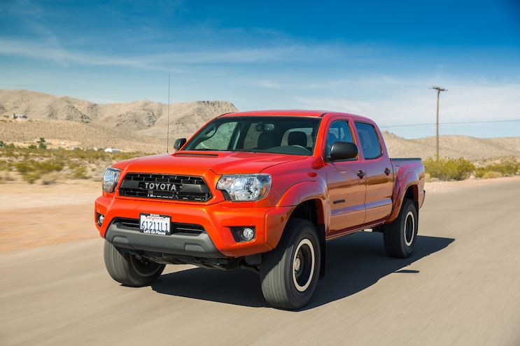 2015 Toyota Tacoma TRD Pro Front Three Quarter In Motion