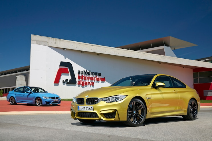 2015 BMW M3 And M4 Front Three Quarters