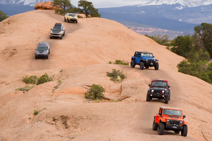 Easter Jeep Safari 2014 Goupe