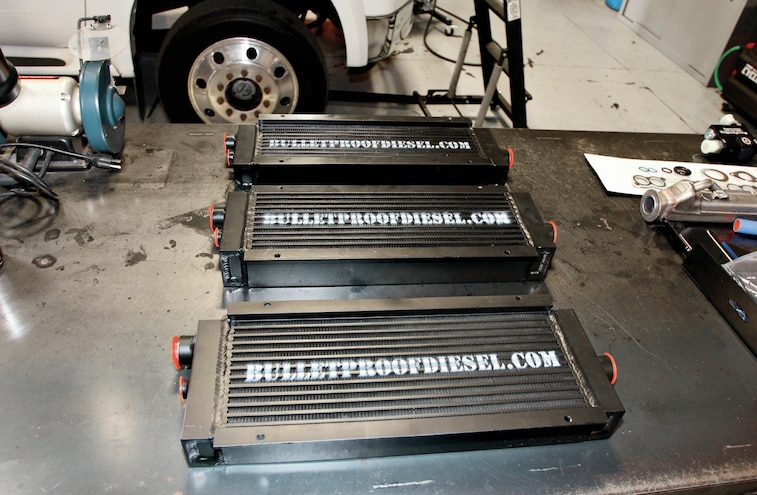 Bullet Proof Diesel's Ford Super Duty 6.0L Oil Cooler - Diesel Tech