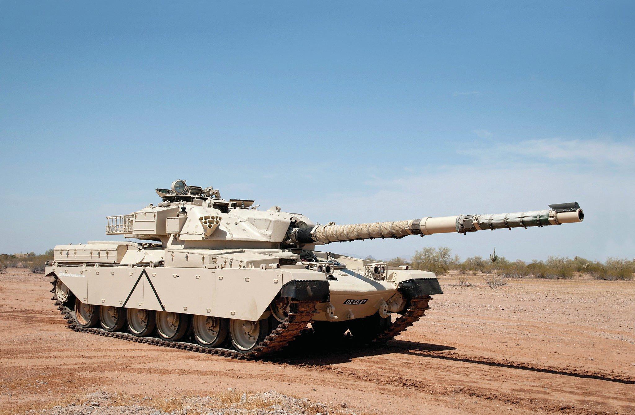 Chieftain tank and FV432 APC - Big Boy Toys Photo & Image Gallery