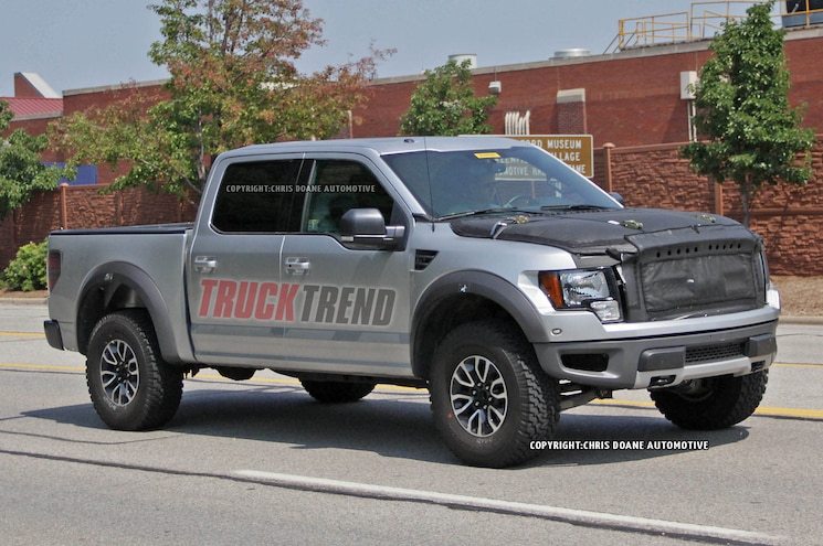 Caught Again! 2016 Ford F-150 Raptor Mule