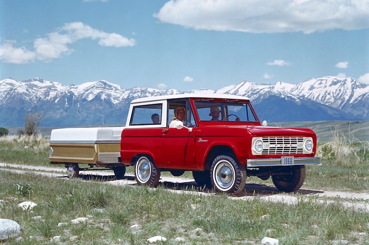 1966 Ford Bronco Front Three Quarters