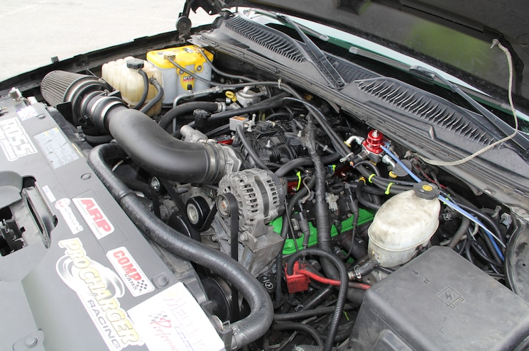 2006 Chevrolet Silverado SS Engine