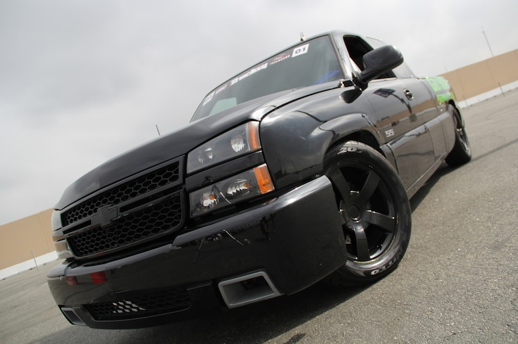 2006 Chevrolet Silverado SS Front Grille View