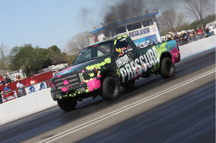 Chevrolet Under Pressure Front Three Quarter