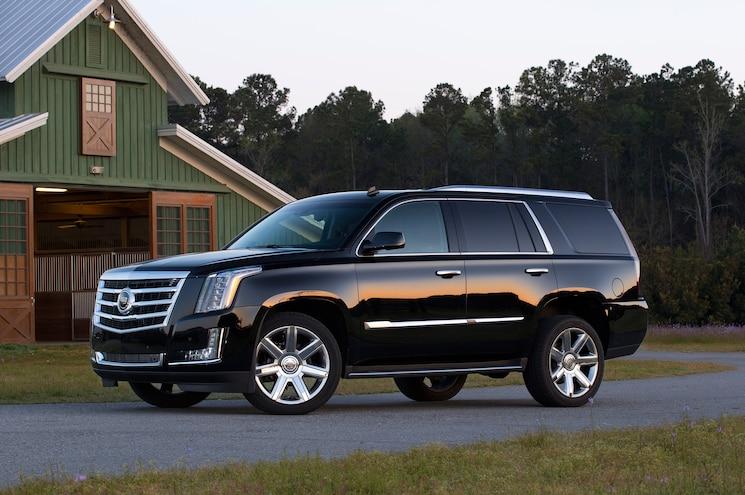 2015 Cadillac Escalade Side Profile