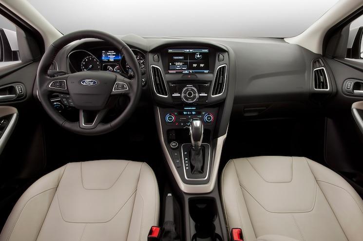 2015 Ford Focus Sedan Interior