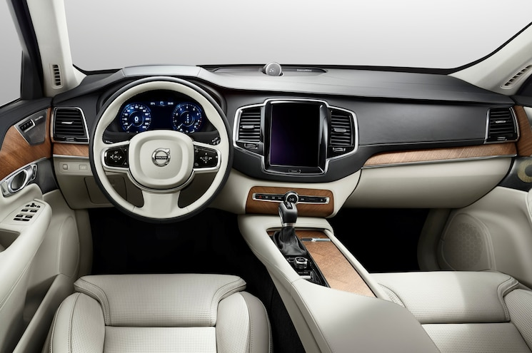 Interior of 2015 Volvo XC90 Shown Before Full Reveal