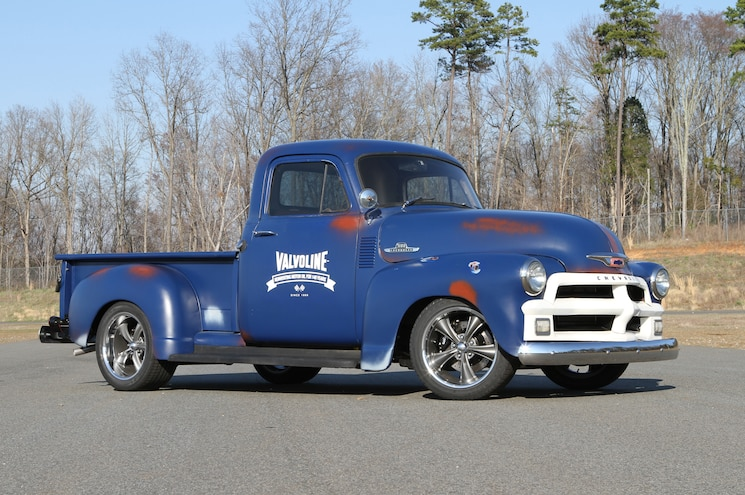 1955 Chevrolet 3100 Front View