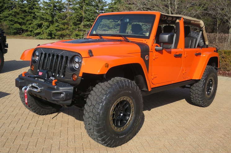 Jeep Wrangler MOJO Concept Front Three Quarters