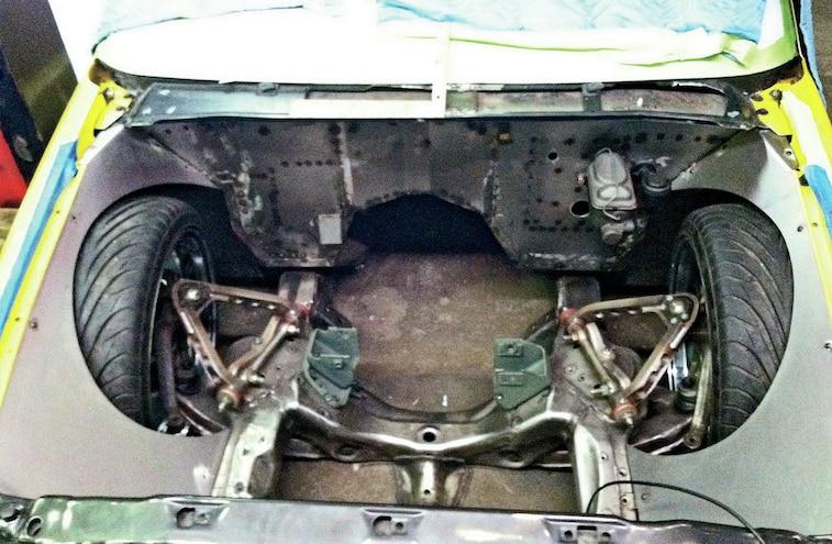 1997 Chevrolet S 10 Frame