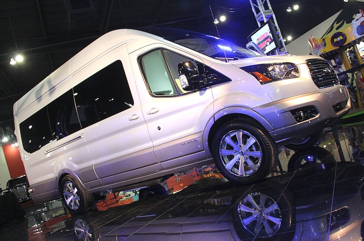 Ford Transit Skyliner Concept Front View