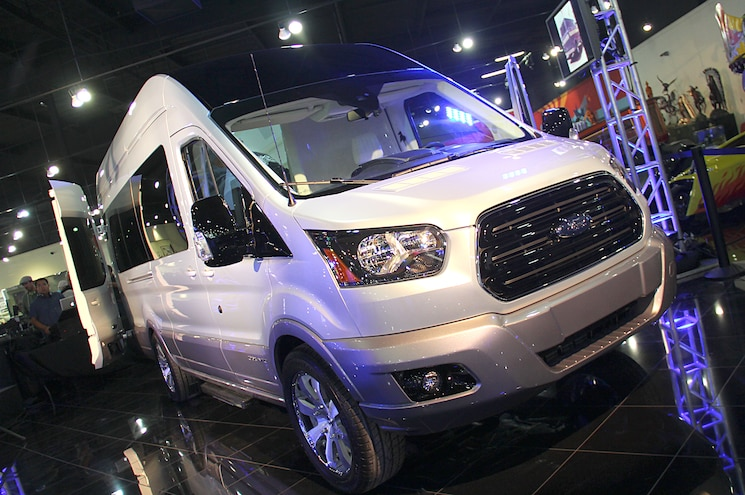 2015 Ford Transit Skyliner Concept Unveiled