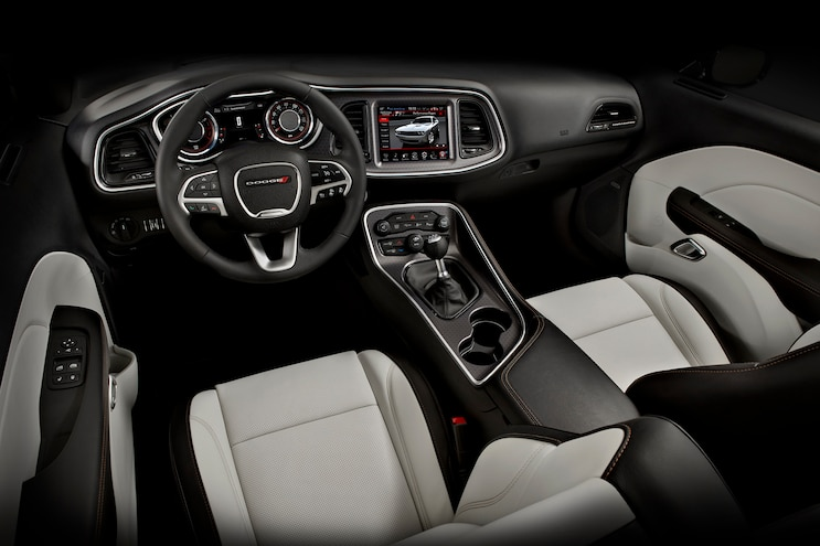 2015 Dodge Challenger RT Interior