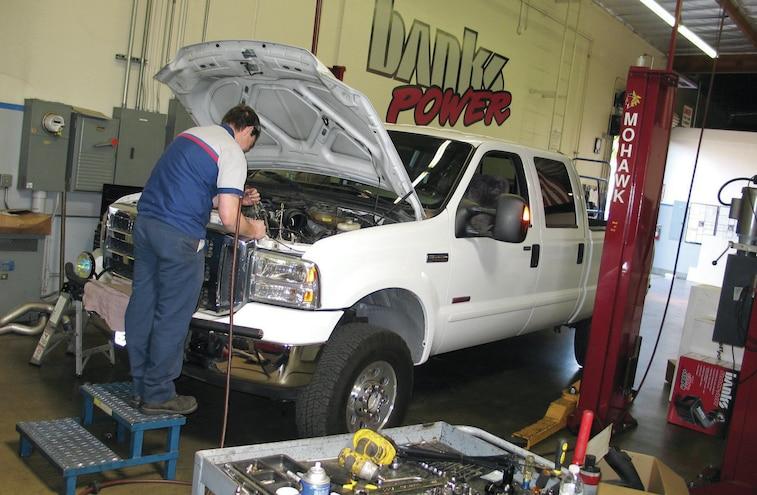 2007 Ford F 250 6L Power Stroke Banks PowerHouse Installation Center
