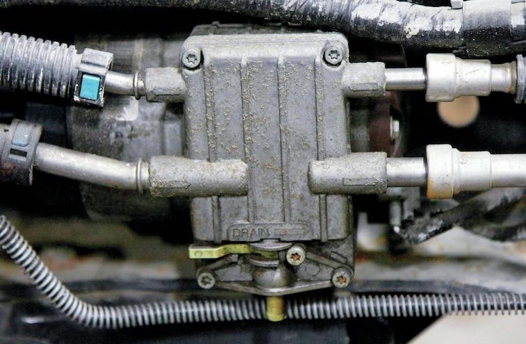 Fuel Filter Basics Ford Power Stroke Water Drain Valve