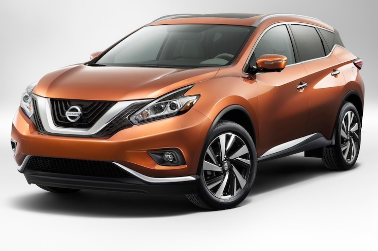 2015 Nissan Murano First Look