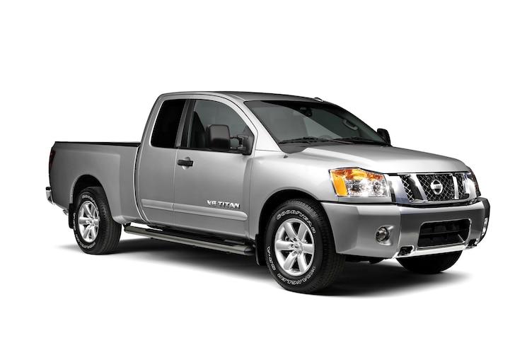 2014 Nissan Titan Front