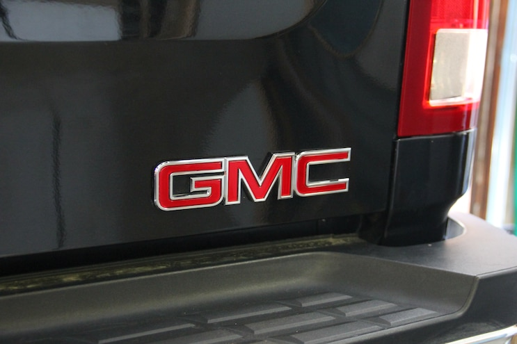 2009 GMC Sierra SLT Duramax Badge Removal