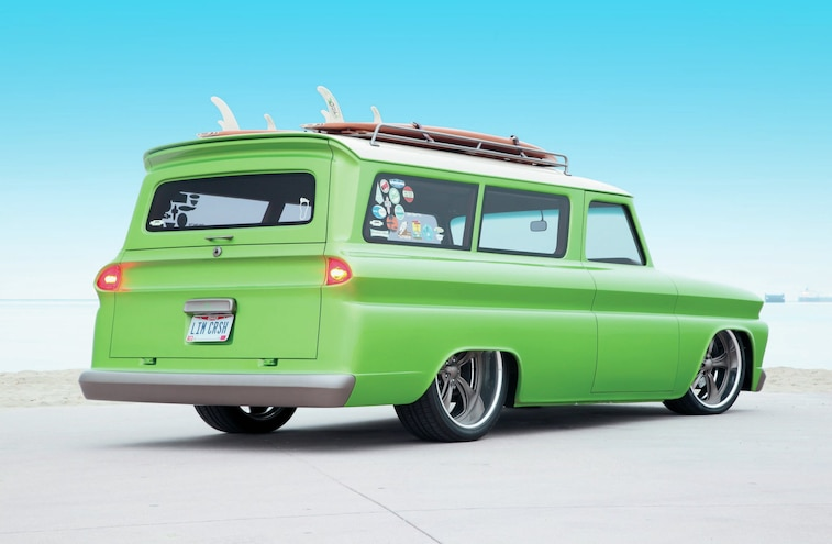 1966 Chevrolet Suburban Rear View