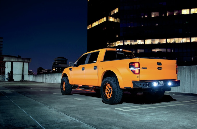 2012 Ford F 150 SVT Raptor Rear
