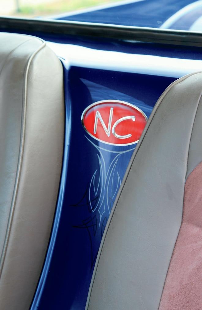 1992 Nissan Hardbody Interior Logo