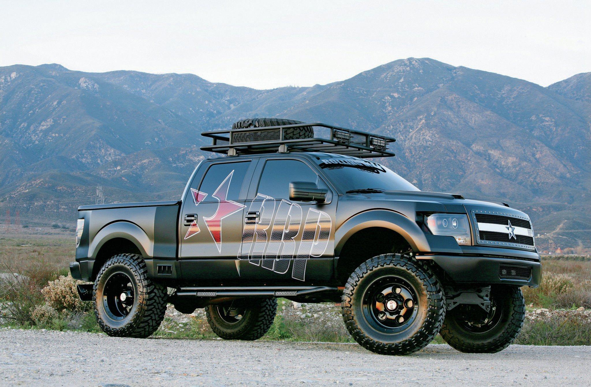 2011 Ford F 150 Svt Raptor Rolling Big