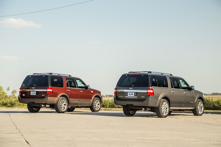 2015 Ford Expedition Rear Three Quarter