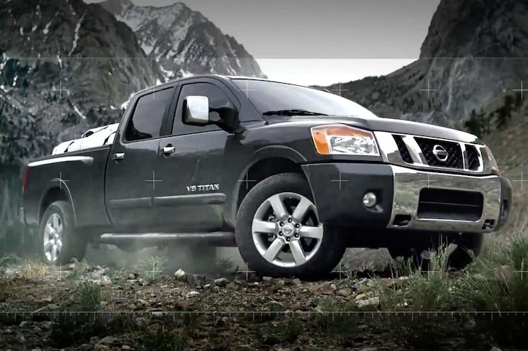 2014 Nissan Titan Front Angle
