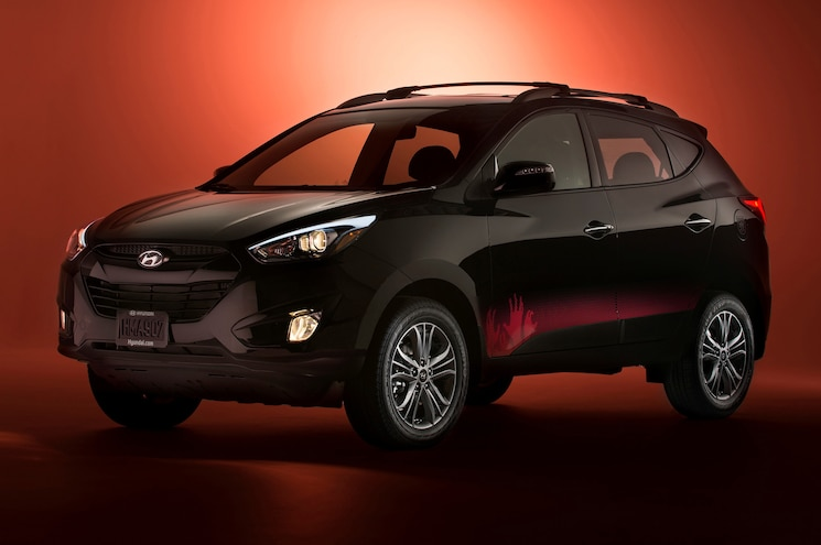 Hyundai Tucson Walking Dead Edition Will Save You From Weak Zombies