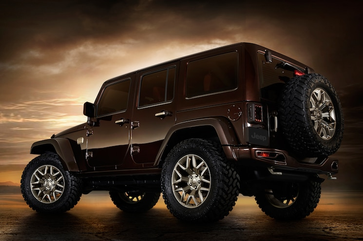 Jeep Wrangler Sundancer Design Concept Rear Three Quarters