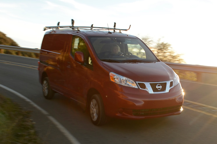2013 Nissan NV200 SV Front View