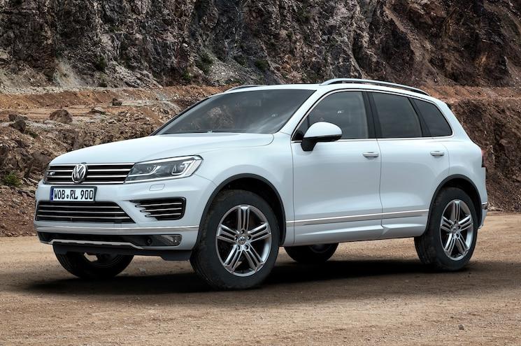 New 2015 Volkswagen Touareg UK Pricing, Cleaner TDI Models Announced