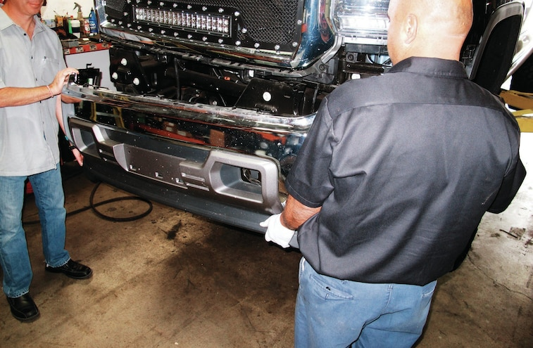 2014 GMC Sierra Cover Plates Removed