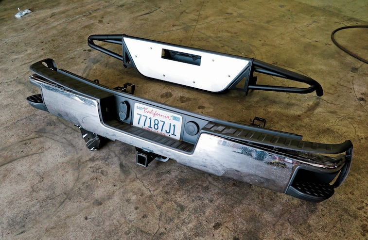 2014 GMC Sierra Difference Between The Two Bumpers