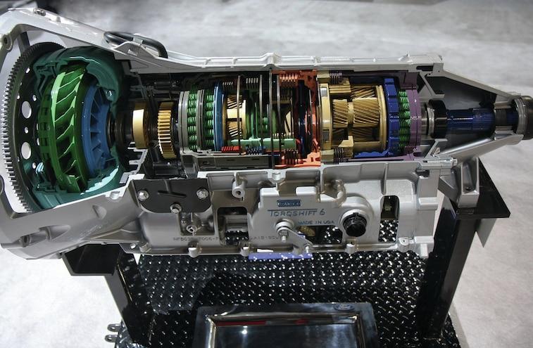 2016 Ford F 750 6r140 Six Speed TorqShift