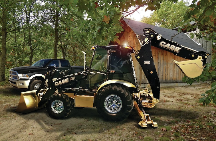 One-of-a-Kind Ram 3500 -- No, One-of-a-Kind Backhoe