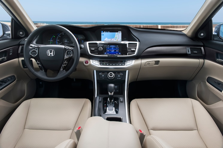 2014 Honda Accord Hybrid Touring Interior