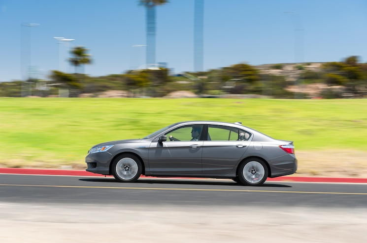 2014 Honda Accord Hybrid Touring Side In Motion